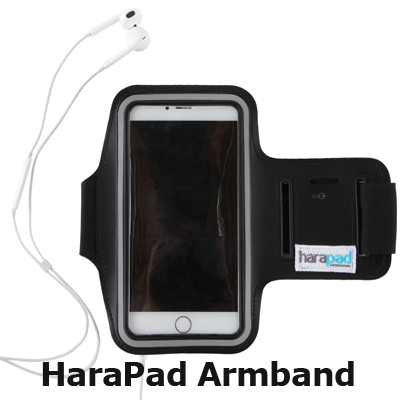 portable emf protection arm band for cellphones